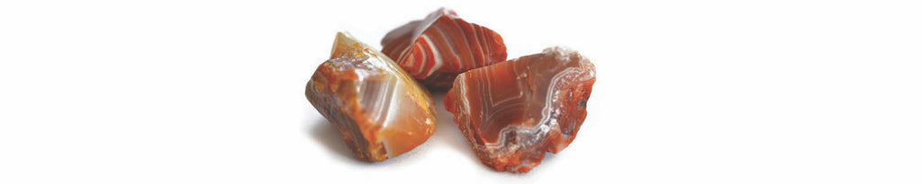 Divine Dog Red Agate Gemstones