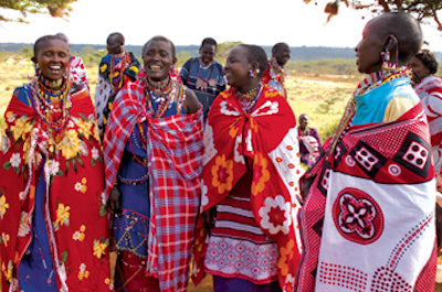 Kenya Collars Maasai Women
