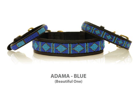 Kenya Beaded Dog Collar