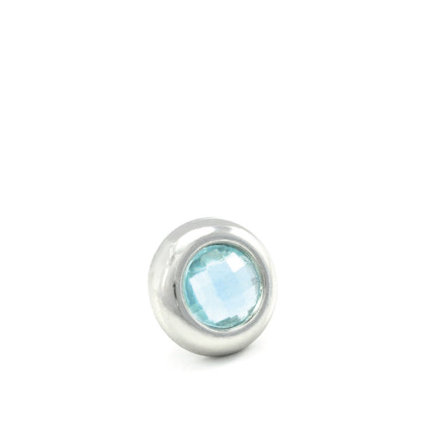 ICE-ICE-BABY Crystal, Mini Silver-Plated Stud