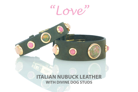 Love Collection Bracelet, Italian Nubuck Leather