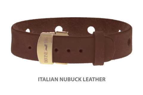 Leather bracelet for Divine Dog Studs