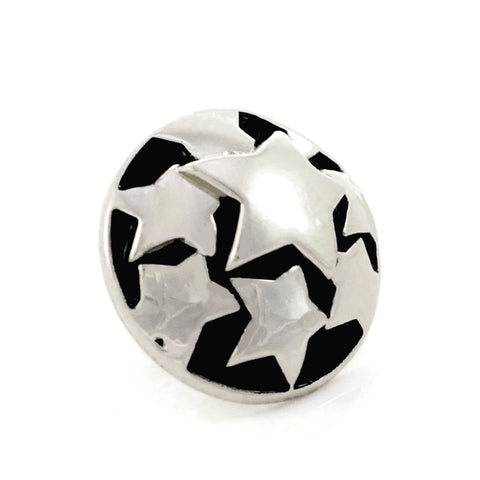 SUPERSTAR, Medium (19mm) Silver-Plated Stud