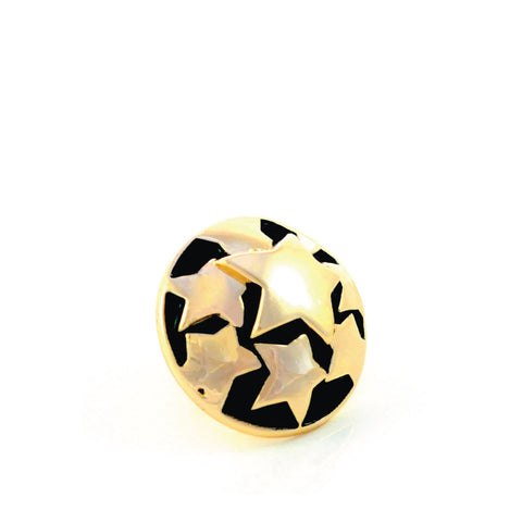 SUPERSTAR, Small (13mm) Gold-Plated Stud