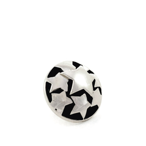 SUPERSTAR, Small (13mm) Silver-Plated Stud