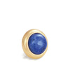 SODALITE Gemstone, Logic, Rationality, Truth, Small Gold-Plated Stud