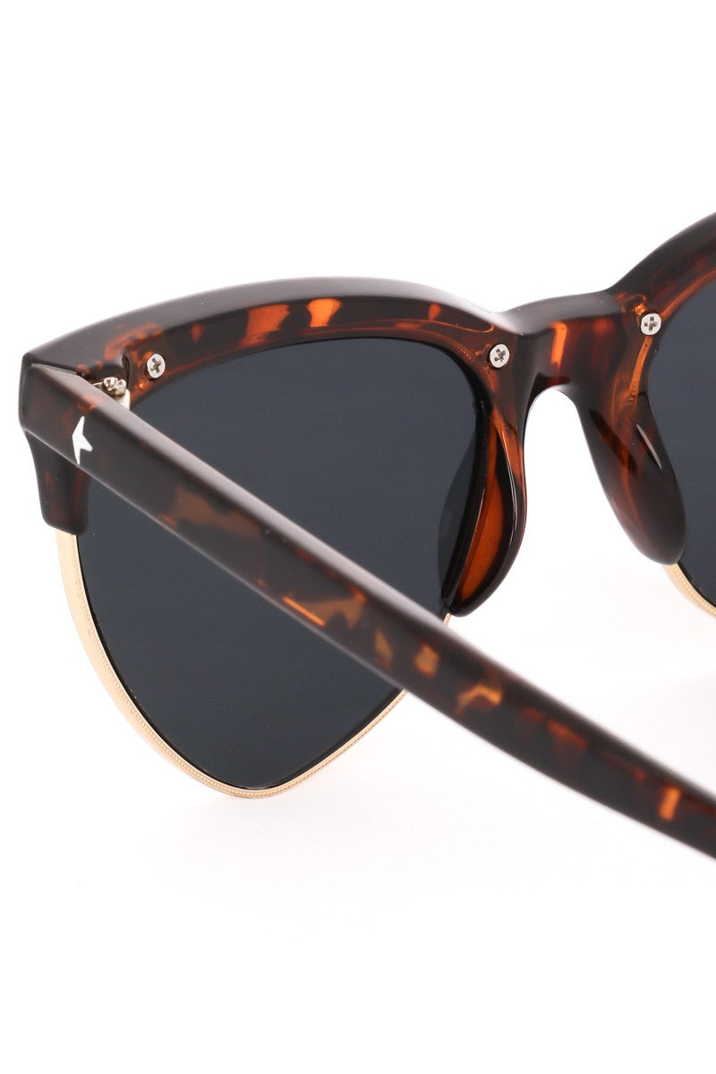 Alyssa Cat Eye Sunglasses Tortoise