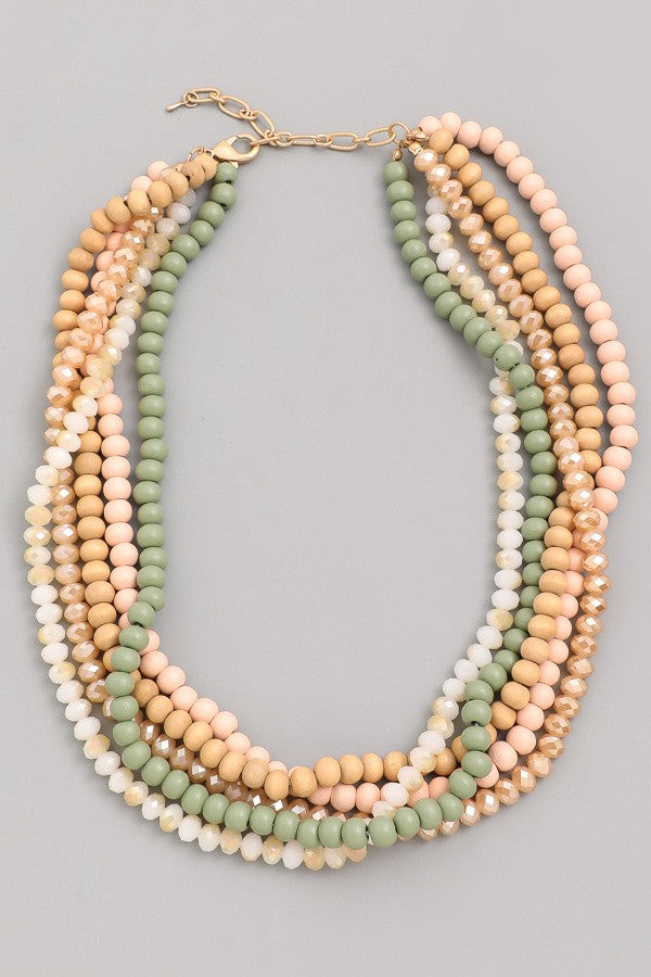 Mary Beaded Necklace