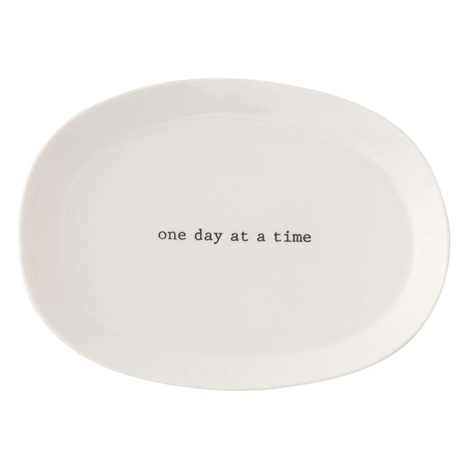 One Day At A Time Mini Tray
