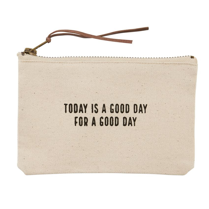 Today is Canvas Pouch