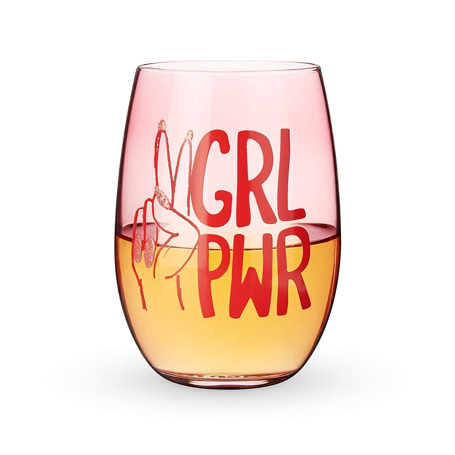 GRL PWR Stemless Glass