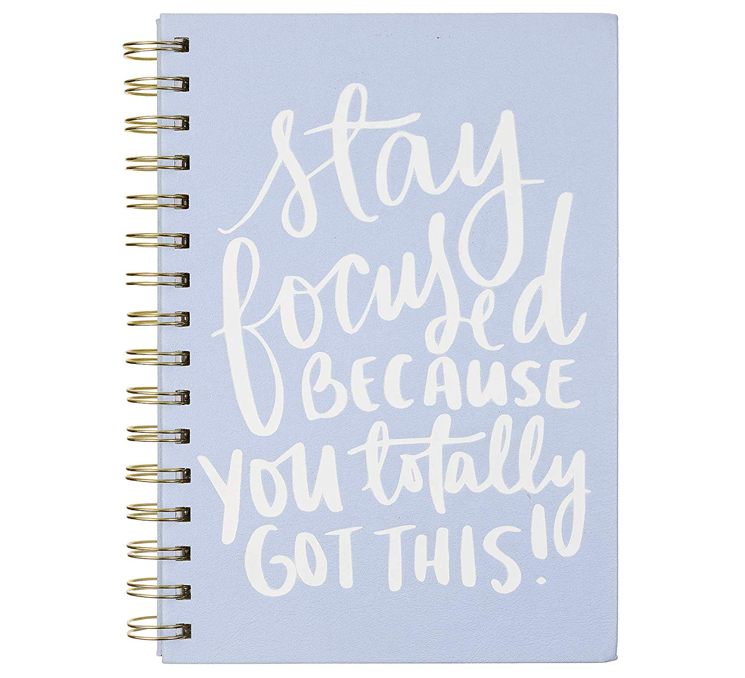 Dayna Lee Spiral Journal Stay Focused