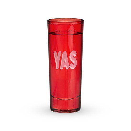"only answer to ""do you want a shot?"" is ""YAS!"" So obviously it belongs on a shot glass. This set of three is perfect for toasting to every occasion."
