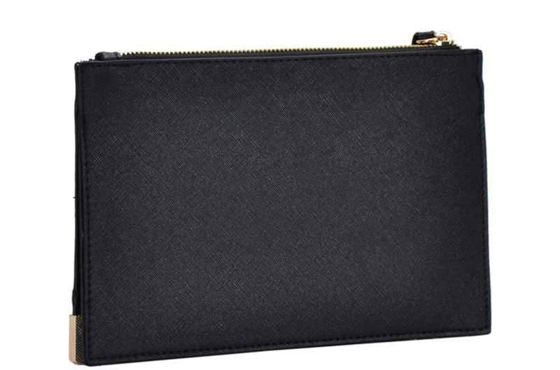 Isabel Wristlet Clutch Black