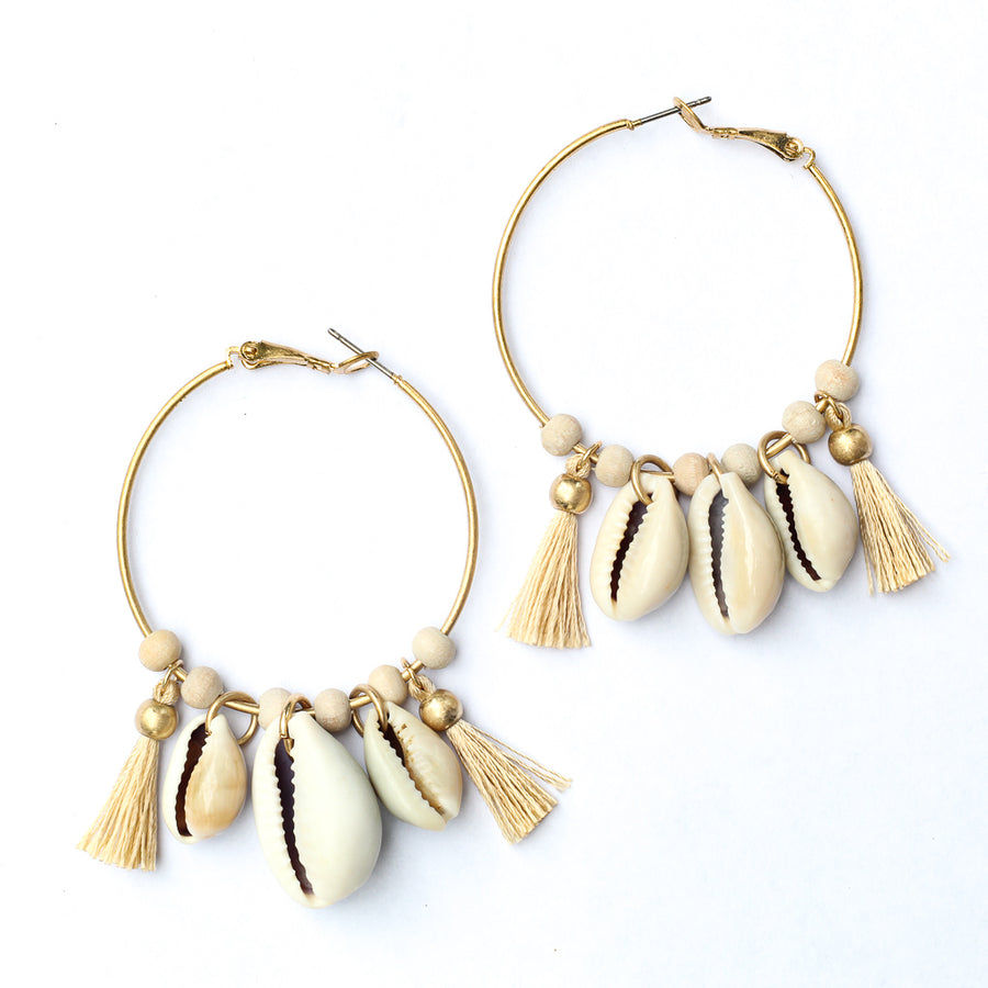 Emma Shell Hoops