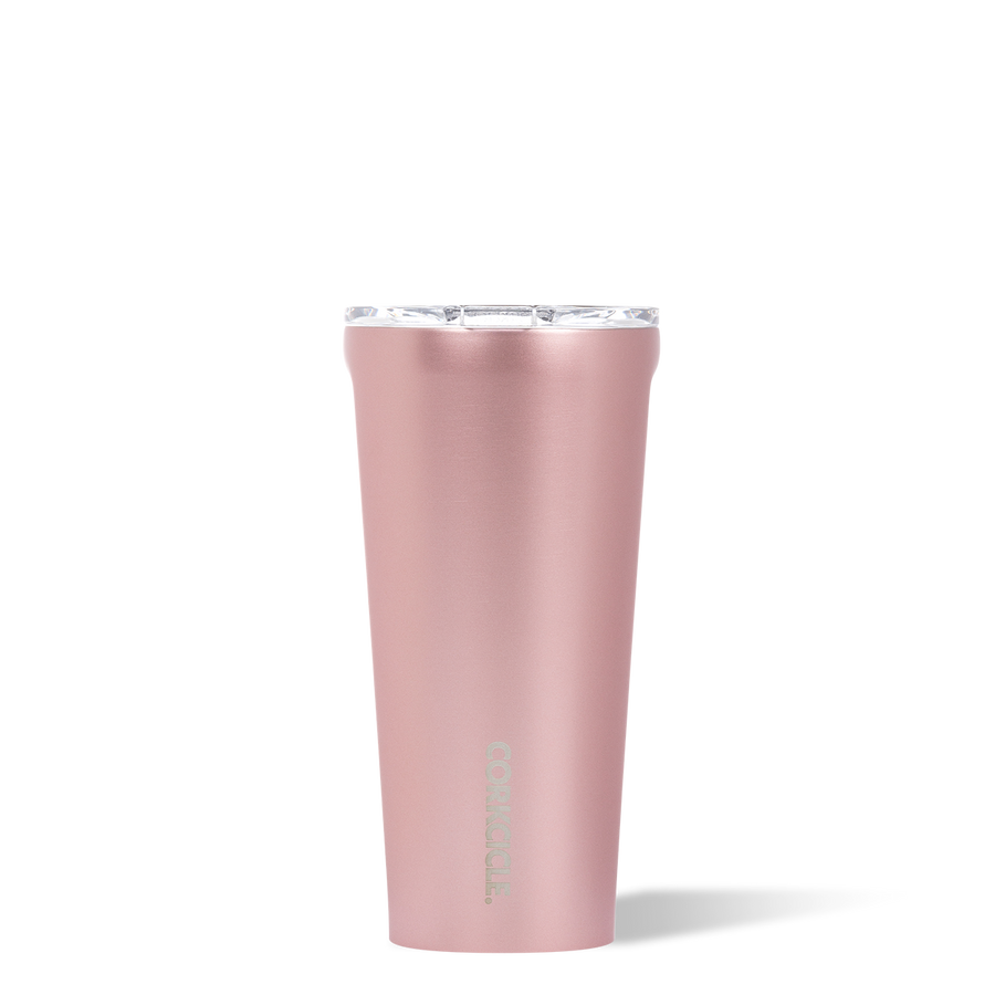 16oz Metallic Rose Tumbler
