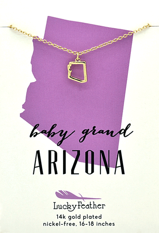 State Necklace Arizona