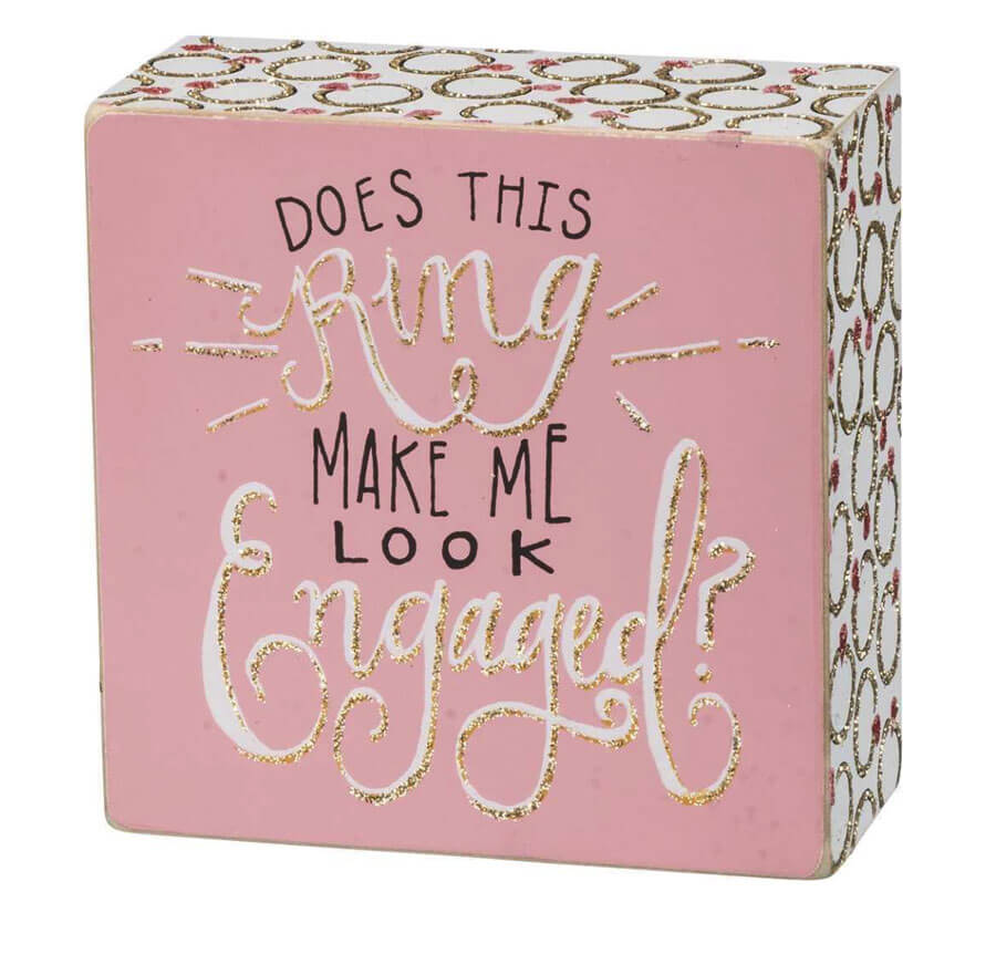 Engaged Box Sign