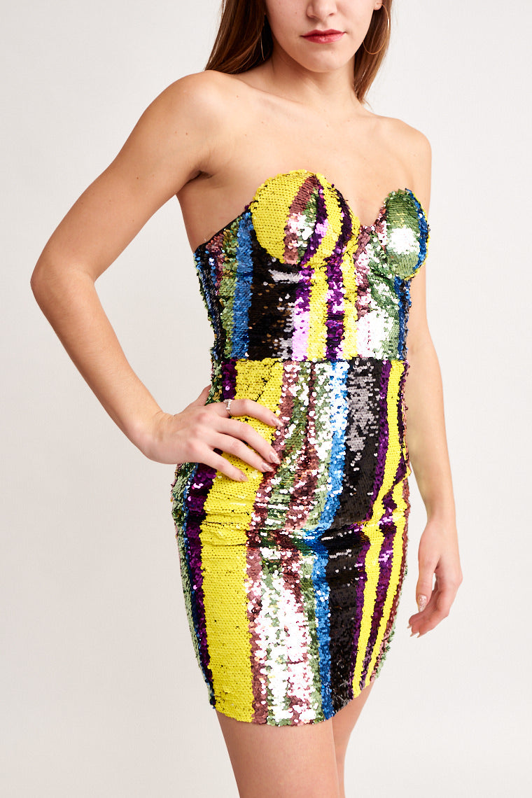 Neha Sequin Dress