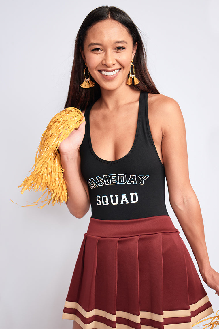Get tailgate ready in the Gameday Squad Bodysuit!