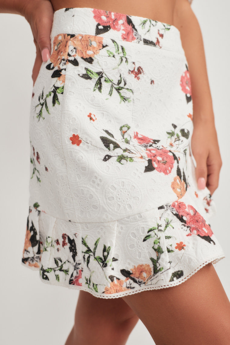 Lucy Floral Skirt