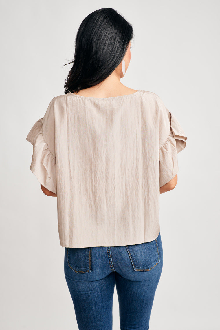 Loreen Ruffle Top