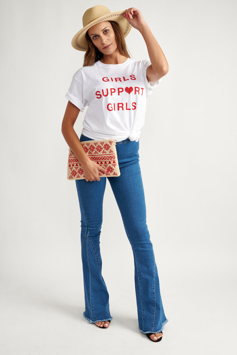 Girls Support Girls Graphic Tee