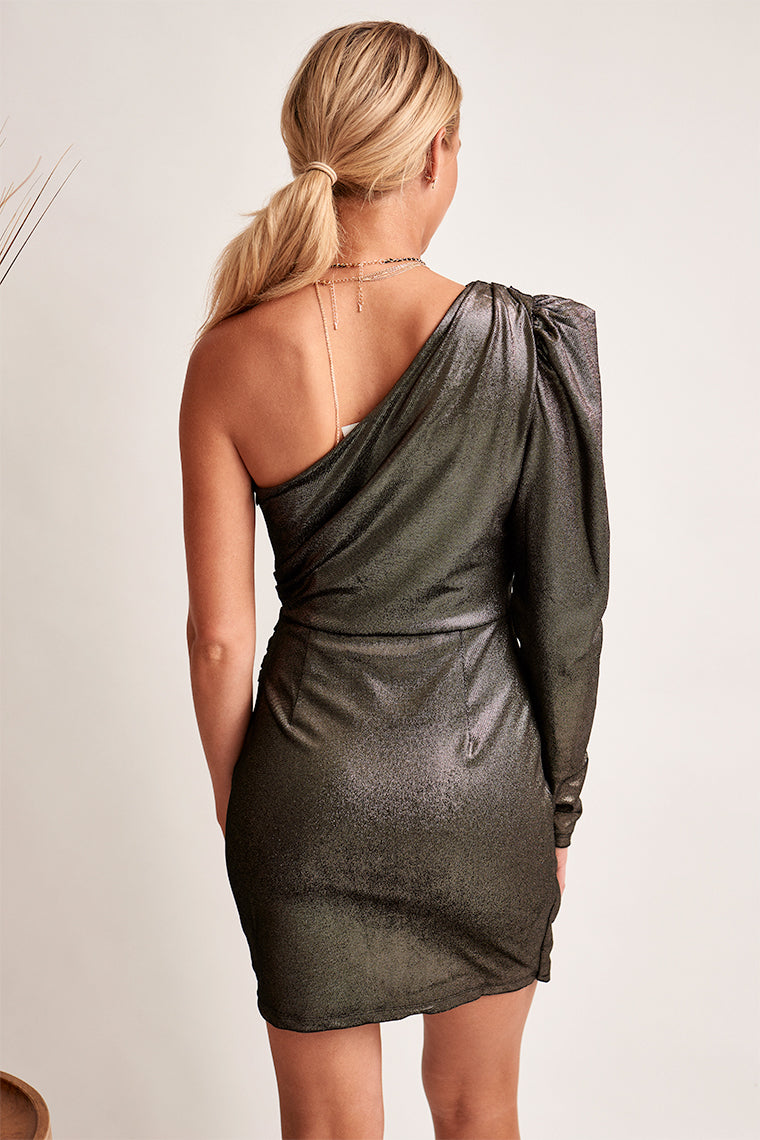 Veronica Metallic Dress