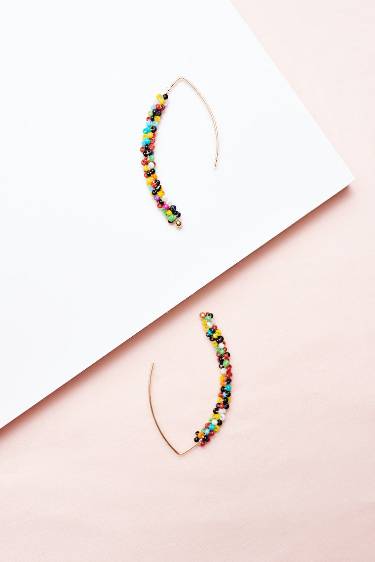 Rachel Beaded Earrings