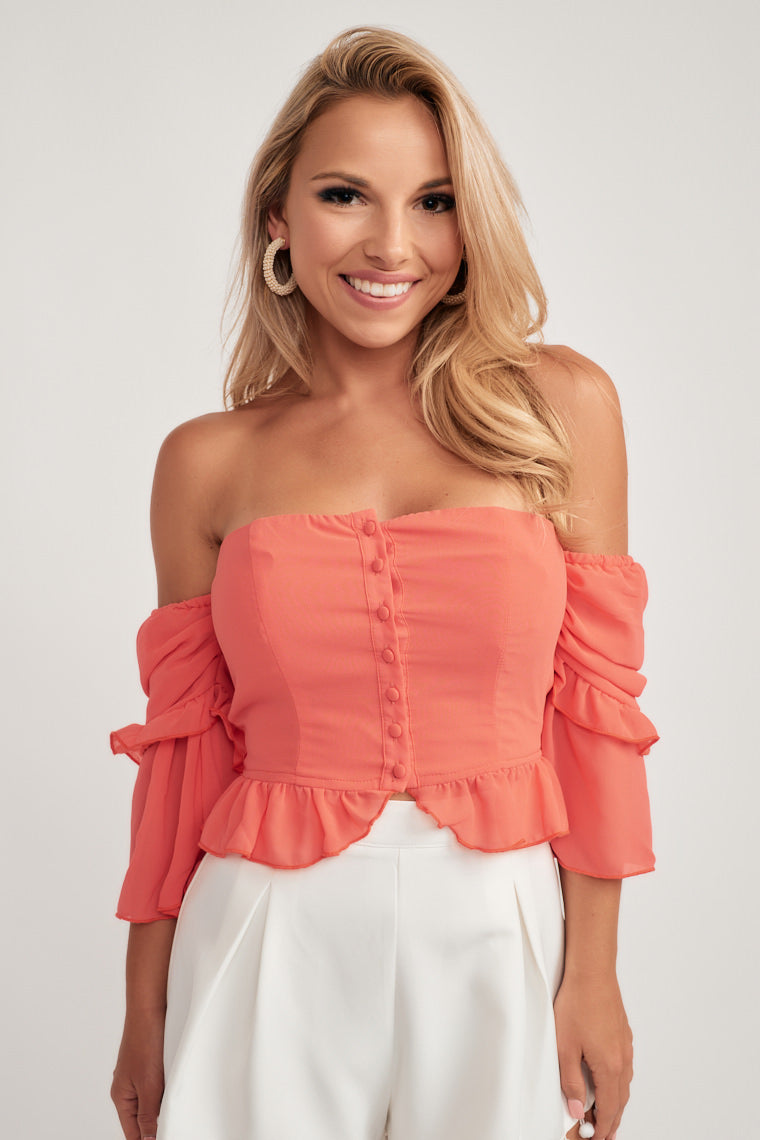 Leah Off The Shoulder Top