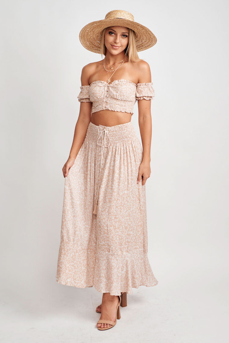 Bianca Boho Crop Top
