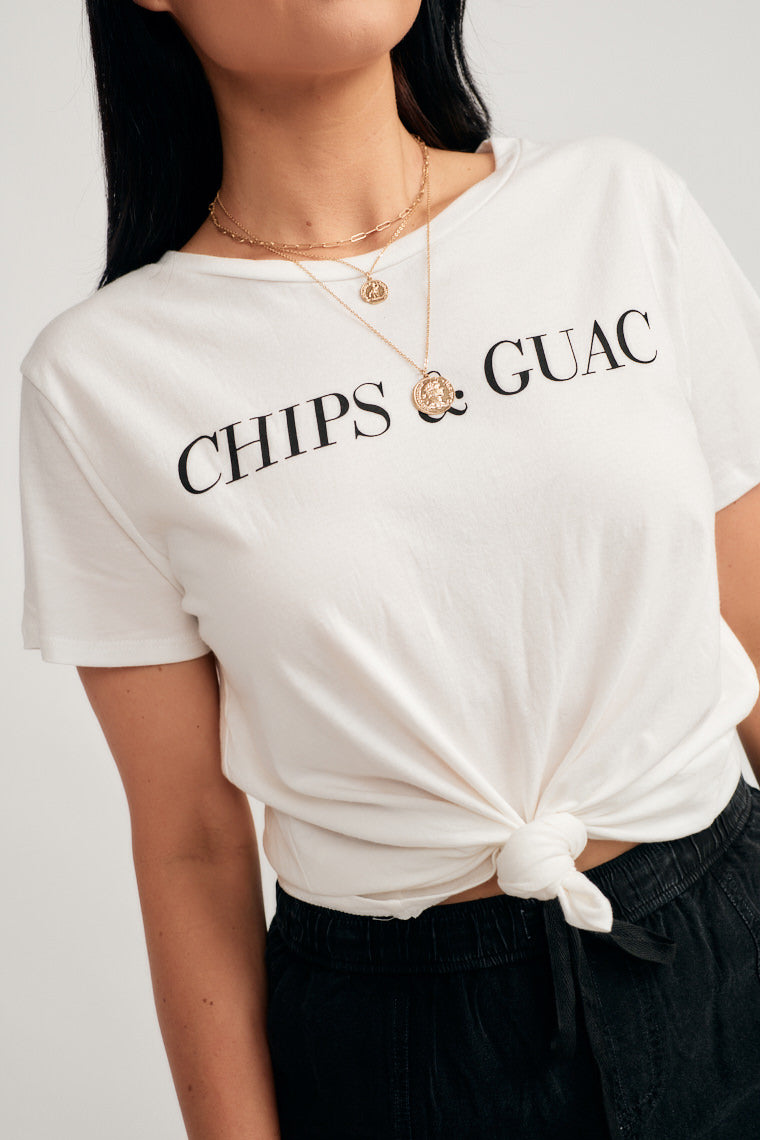 Chips and Gauc Graphic Tee