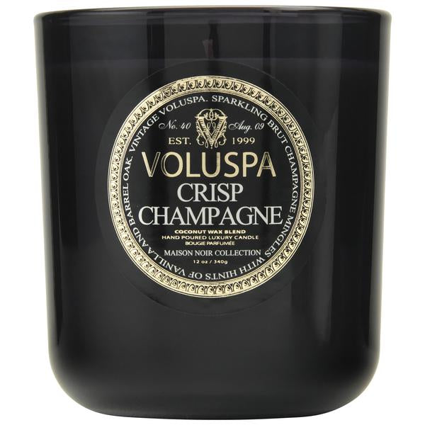 Notes of Sparkling Brut Champagne, Vanilla & Barrel Oak .This thick, lustrous jar with a deep scoop base creates elegant light from within.