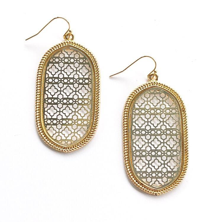Verna Earrings Gold and Silver