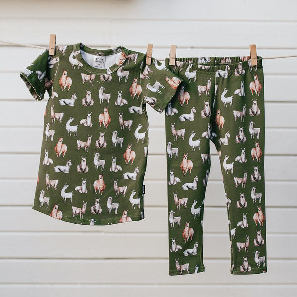 Kid's/Youth Pajama Set | Alpaca
