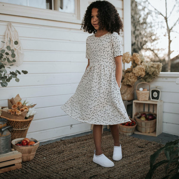 Youth Daphne Dress | Confetti
