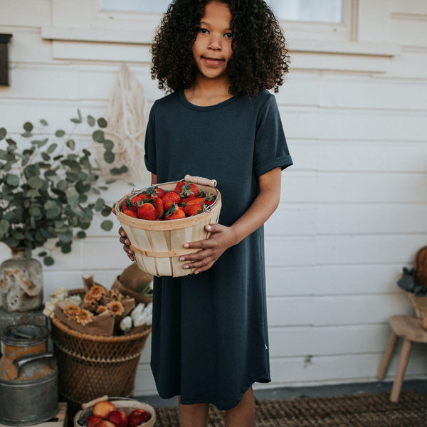Youth Winslow Dress | Navy