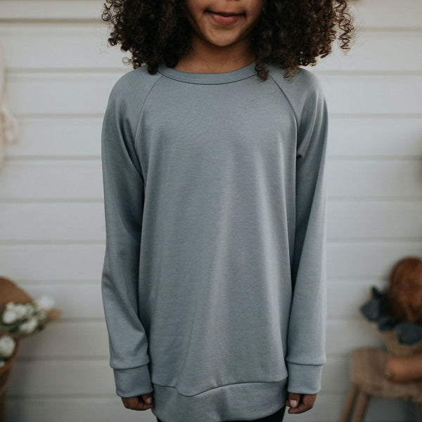 Youth Bamboo/Cotton Pullover | Slate