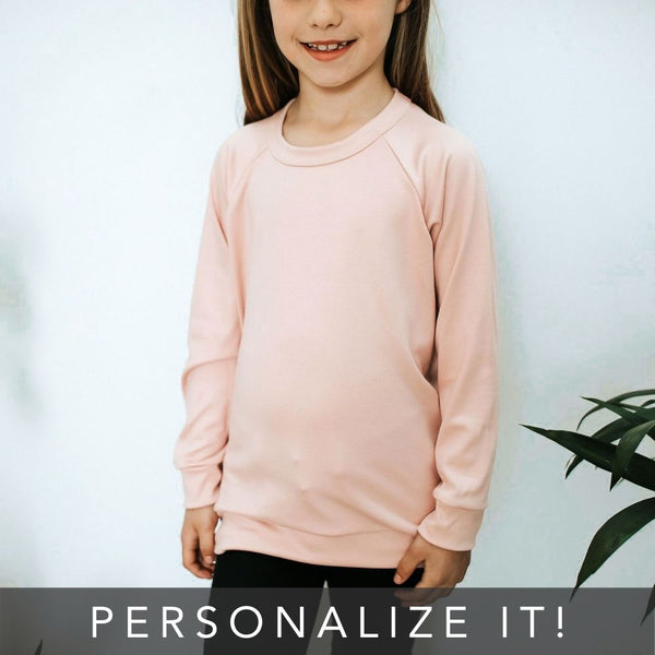 Youth Personalized Pullover | Rosewood | PRE-ORDER