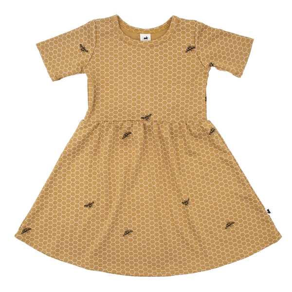 Baby/Kid's Daphne Dress | Honeycomb