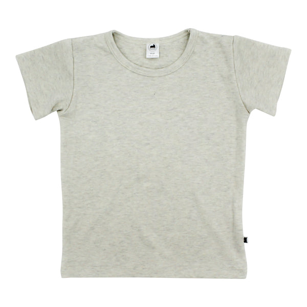 Baby/Kid's Bamboo/Cotton T-Shirt | Ash