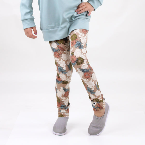 Baby/Kid's Cotton Leggings | Wildflower