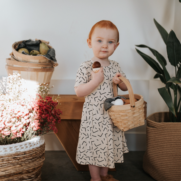Baby/Kid's Daphne Dress | Confetti