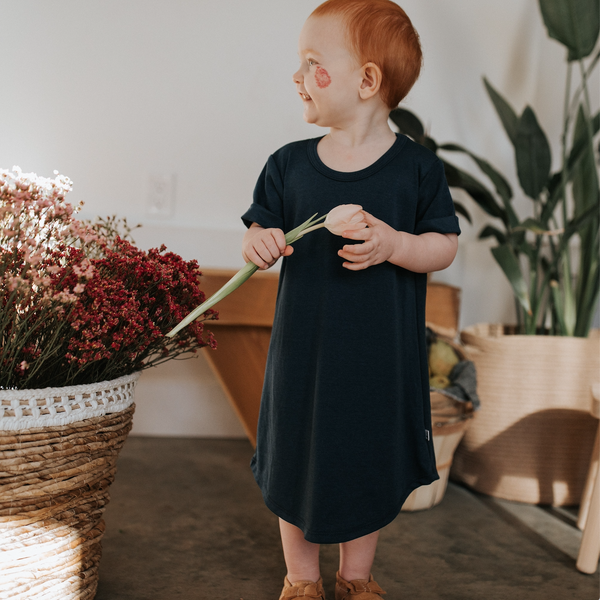 Baby/Kid's Winslow Dress | Navy