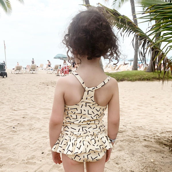 Baby/Kid's SPF50+ Swim Top | Confetti (4431743811628)