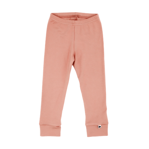 Baby/Kid's Bamboo/Cotton Leggings | Salmon