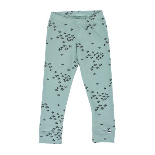 Baby/Kid's Bamboo/Cotton Leggings | School of Fish