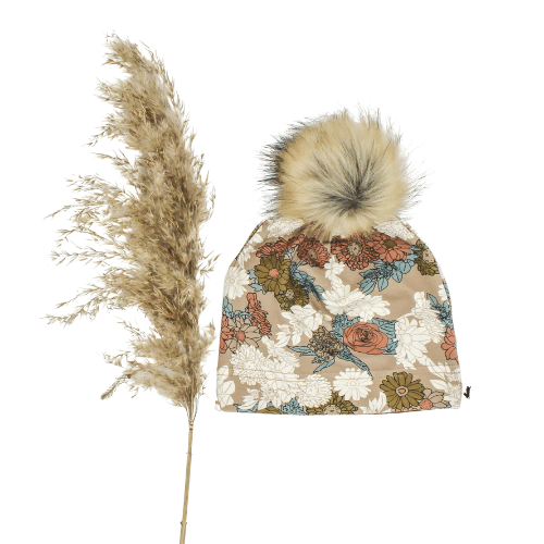 Baby/Kid's Pom Pom Beanie | Wildflower