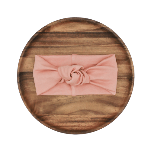 Knotted Headband | Salmon