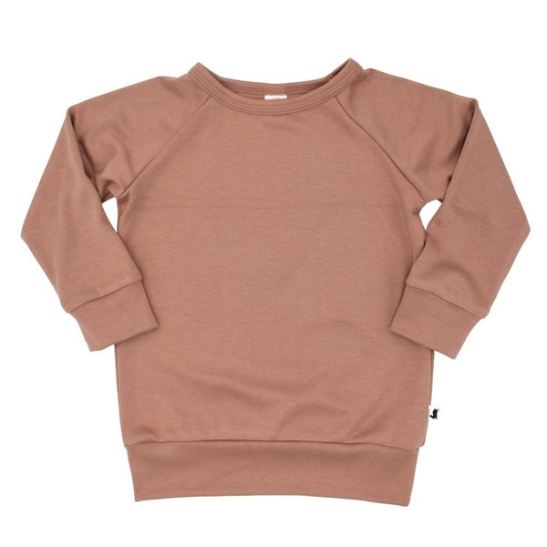 Baby/Kid's Bamboo/Cotton Pullover | Terracotta